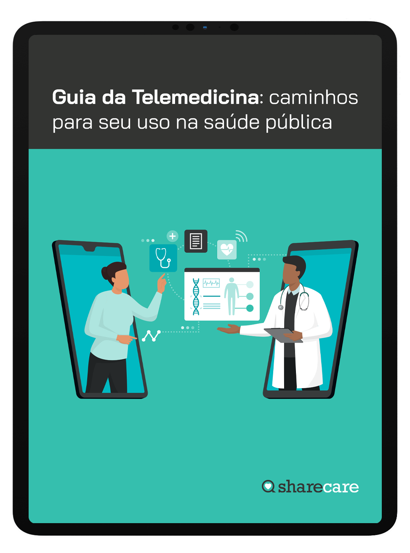 Mockup Guia da Telemedicina