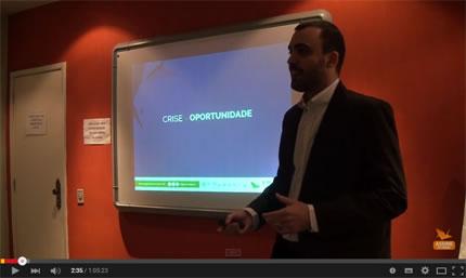 Vídeo da palestra do Vitor Guerson