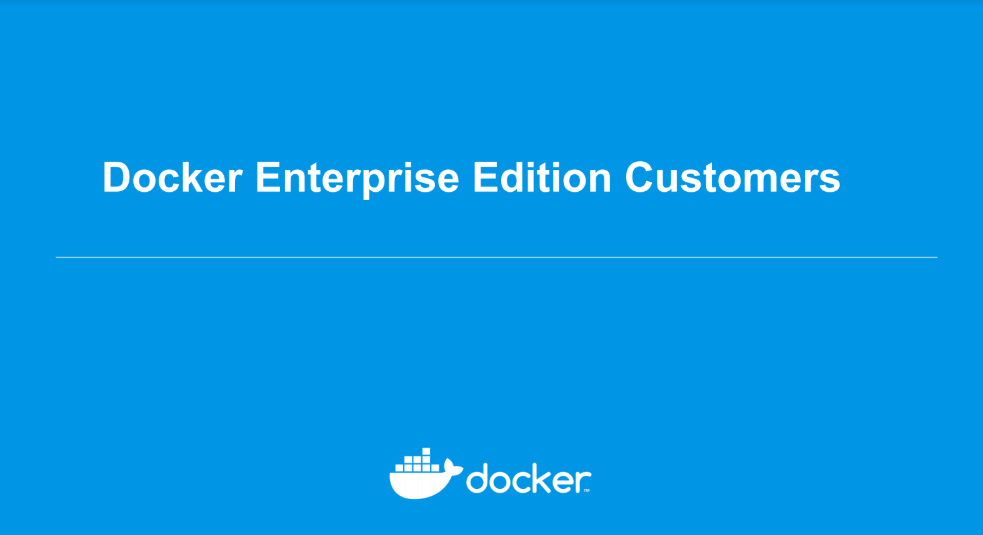 Ebook Docker EE: The Enterprise-Ready Container Platform