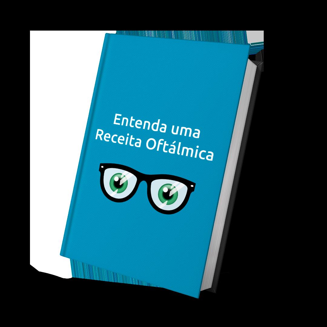 Mockup E-book Entenda uma Receita Oftálmica
