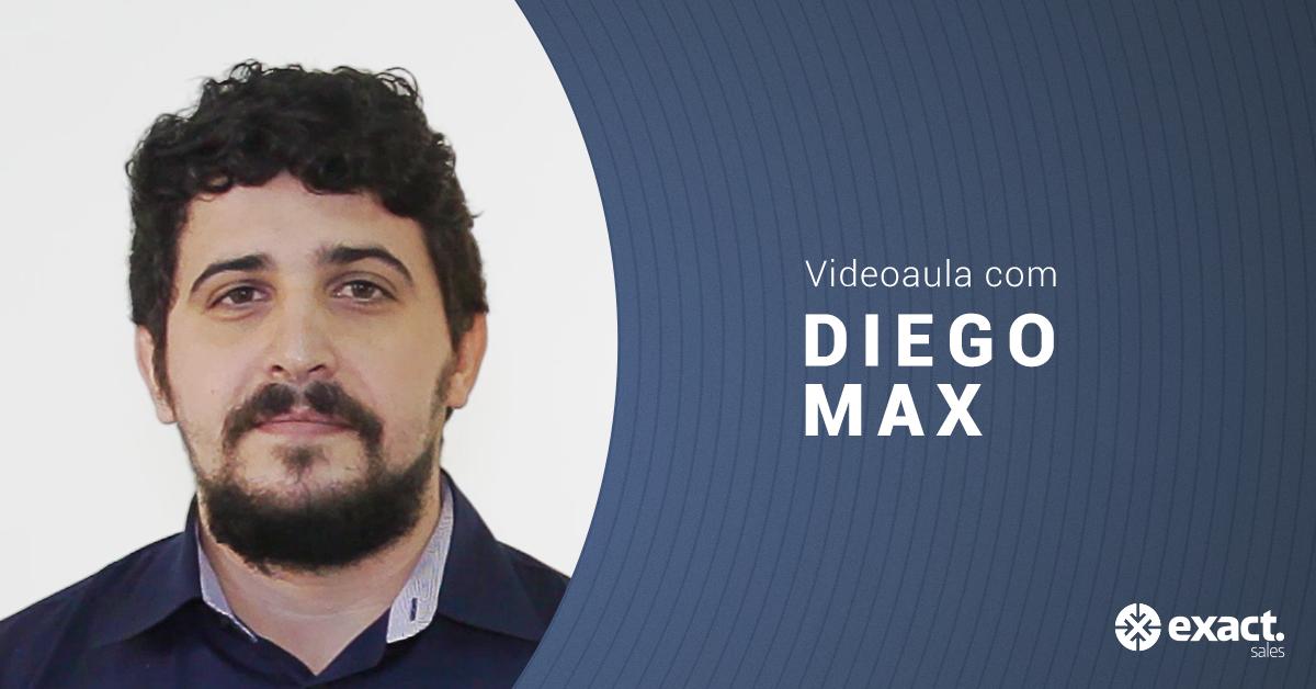 Boas práticas de Onboarding com Diego Max, Gerente de Relacionamento e Implementação na Exact Sales