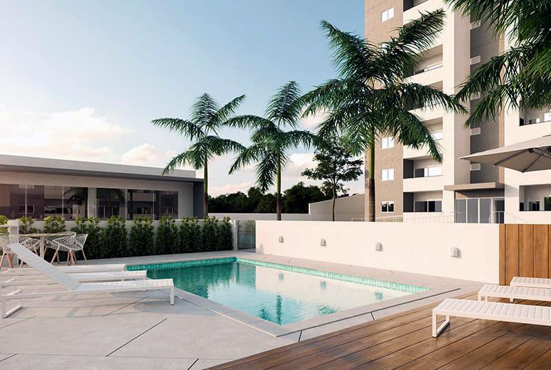 piscina residencial portland em blumenau