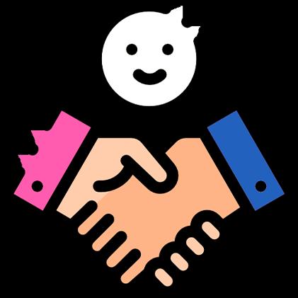 Atendimento rápido e simples com satisfação do cliente garantida