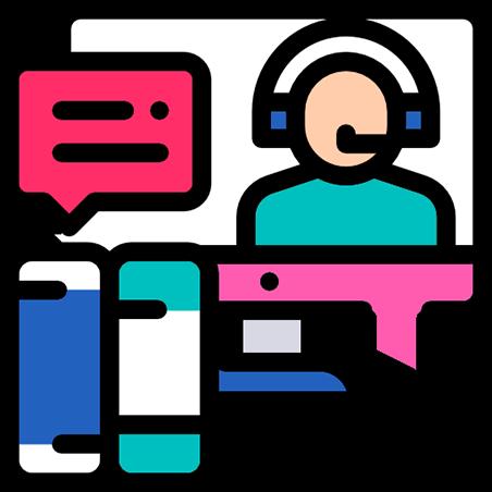 Atendimento digital via Whatsapp Email, SMS