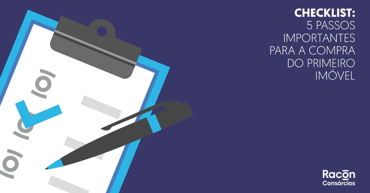 eBook - Checklist  5 passos importantes para a compra do primeiro imóvel 6a1bd292bb