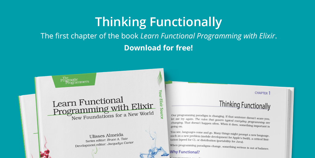Learn Functional Programming with Elixir (Pragprog) - Books