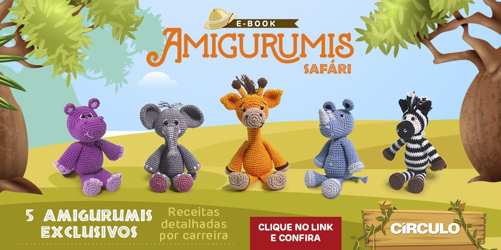 Receitas Círculo - Coelhinho Duki | círculo croché | Amigurumi ... | 512x1024