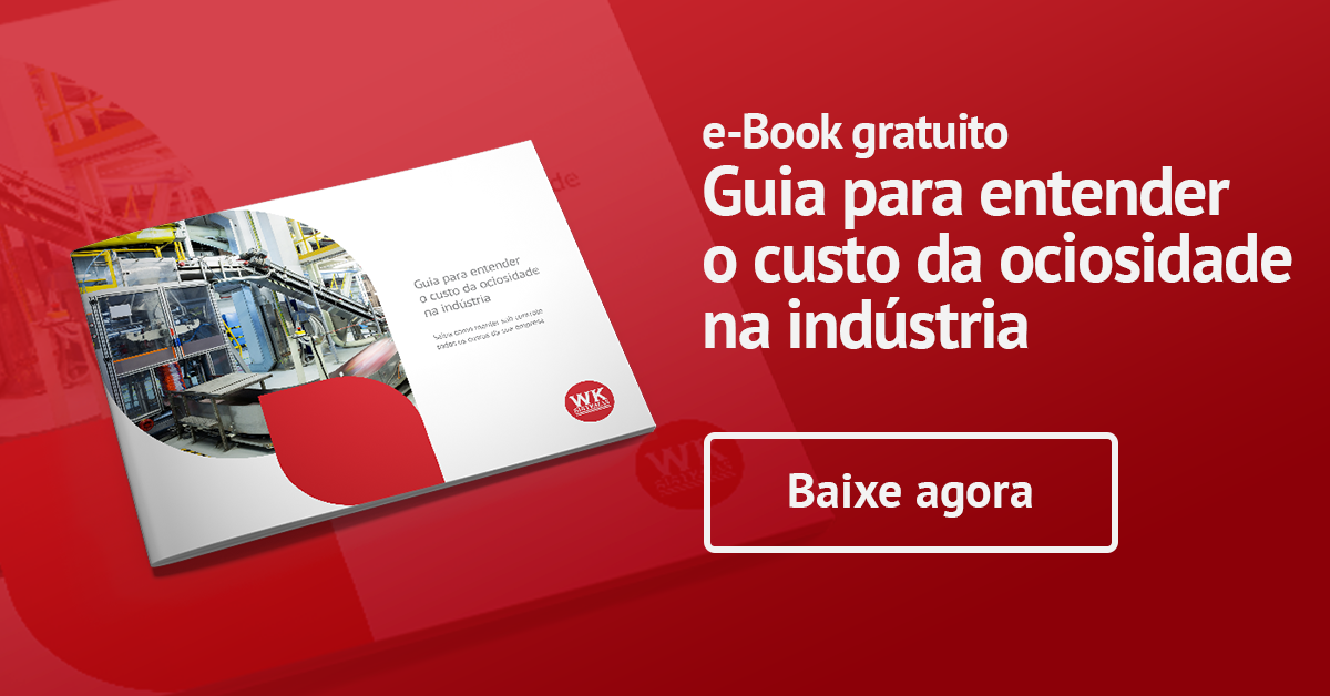 e-book: Guia para entender o custo da ociosidade na indústria