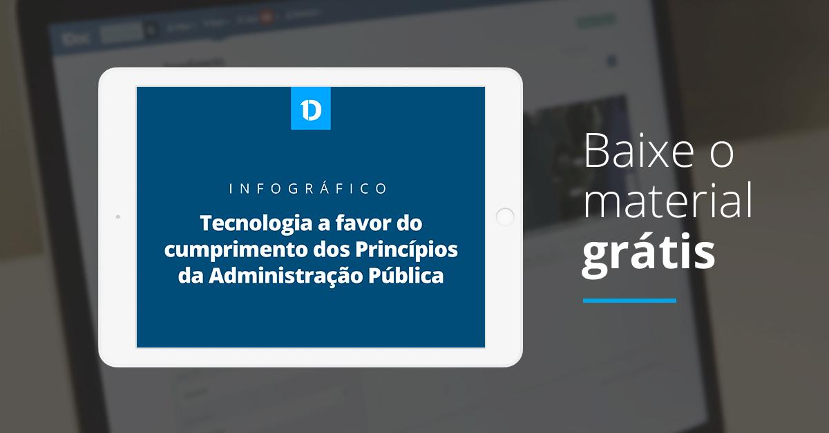 [Download] Tecnologia a favor do cumprimento dos Princípios da Administração Pública