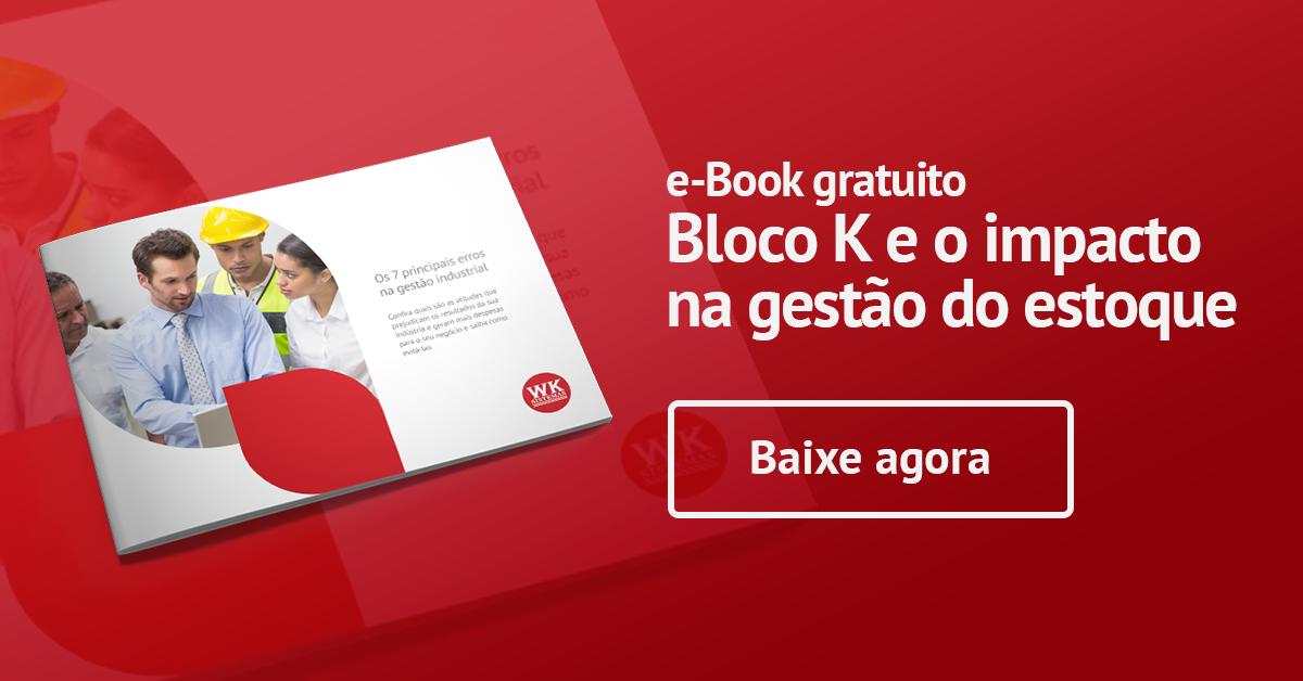 e-book: Bloco K e o impacto na Gestão de Estoque