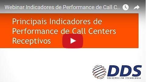 Webinar: Principais Indicadores de Performance de Call Centers Receptivos