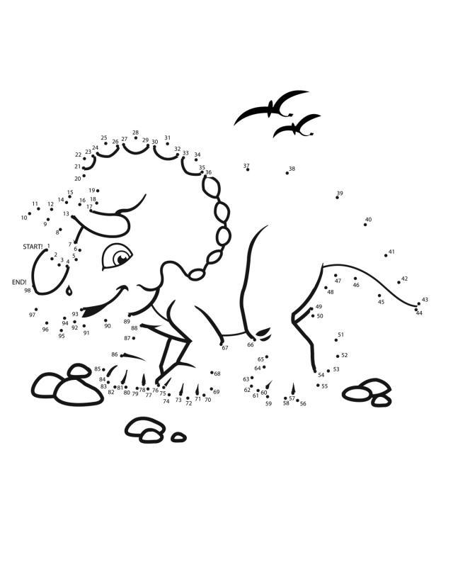 conecte-os-pontos-dinossauro