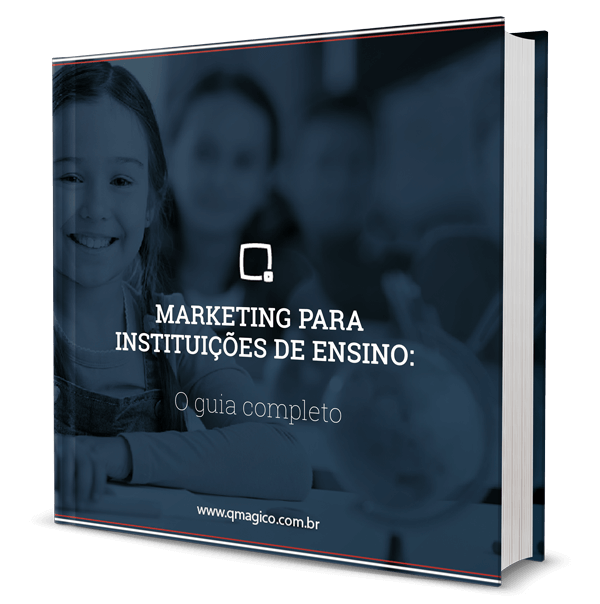 Materiais gratuitos: E-Book - Guia completo de marketing para instituições de ensino
