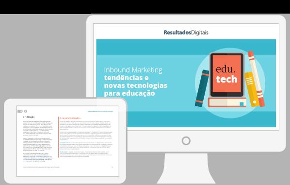 eBook sobre Tecnologia para Educação
